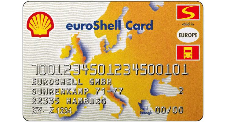 Tankkartenübersicht 2013: Euro Schell Service Card