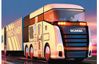 Technik im Wandel – Aerodynamik, Scania