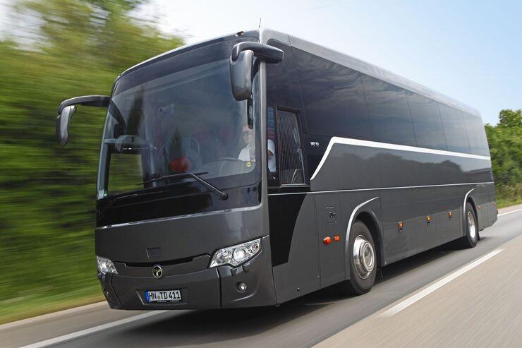Temsa HD12 Details AUfnahmen Bus grau Dunkelgrau Marathon