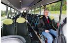 Test, MAN, Lion's Regio C, Linienbus, Überlandbus, Reisebus, Fahrgastraum, Sitze, Fahrgast