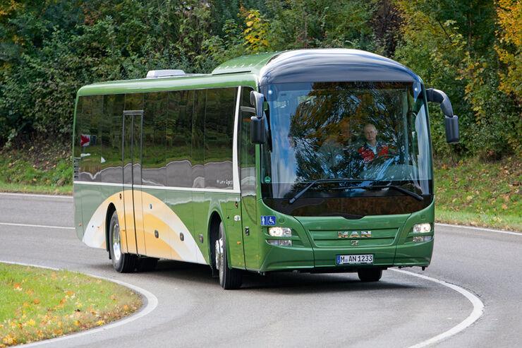 Test, MAN, Lion's Regio C, Linienbus, Überlandbus, Reisebus