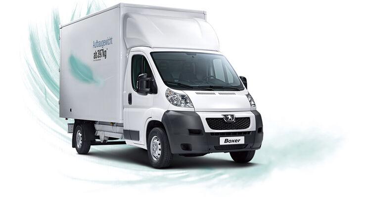 Testen Sie den neuen Peugeot Boxer Cargo.