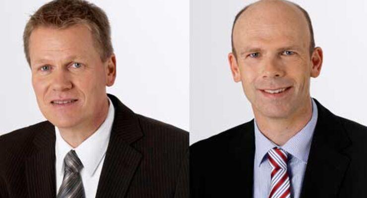 Thomas Lung und Frank Rudat