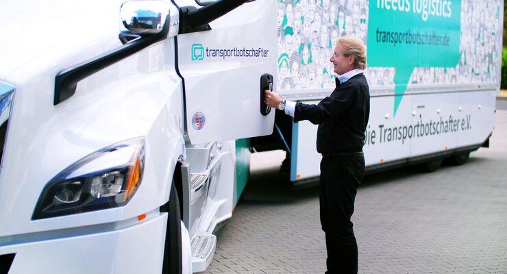 Timocom-Gründer Jens Thiermann wird Transportbotschafter