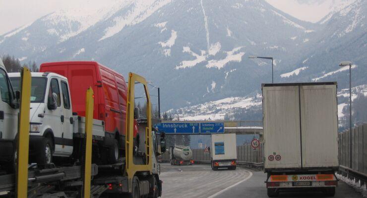 Tiroler Fahrverbote: Verbände kritisieren EU