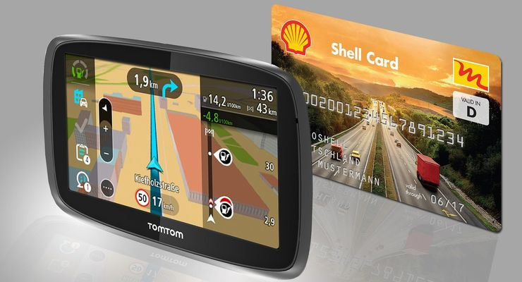 TomTom Shell, Kooperation