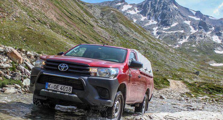 Toyota Hilux Dauertest