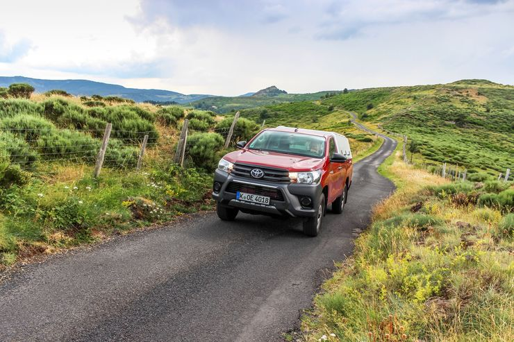 Toyota Hilux Single Cab 2.4 D-4D 2019 Pick-up Dauertest