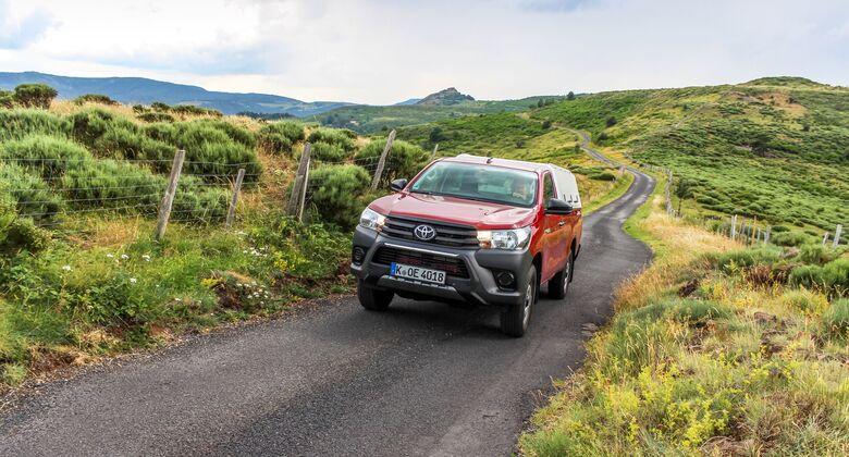 Toyota Hilux Single Cab 2.4 D-4D 2019 Pick-up Dauertest