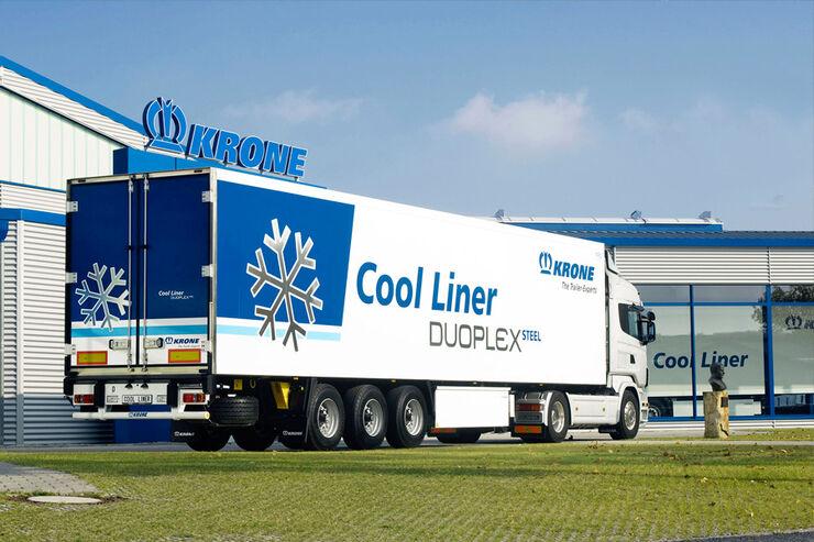 Trailer von Krone, Cool Liner, Duoplex