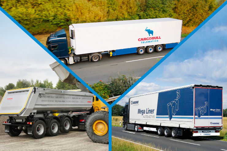 Trailerproduktion in Deutschland, Trailertelematik, Automotive