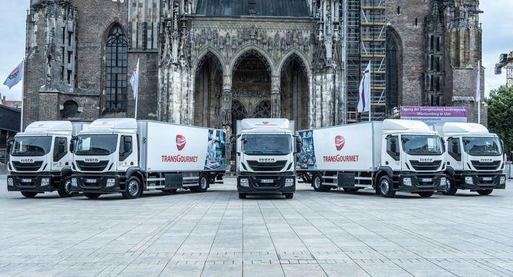 Transgourmet, CNG-Lkw, CNG, Iveco