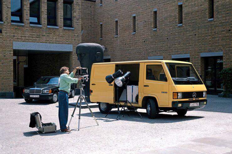 Transporter-Entwicklung der letzten 25 Jahre