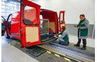 Transporter Vergleichstest: So wird gemessen