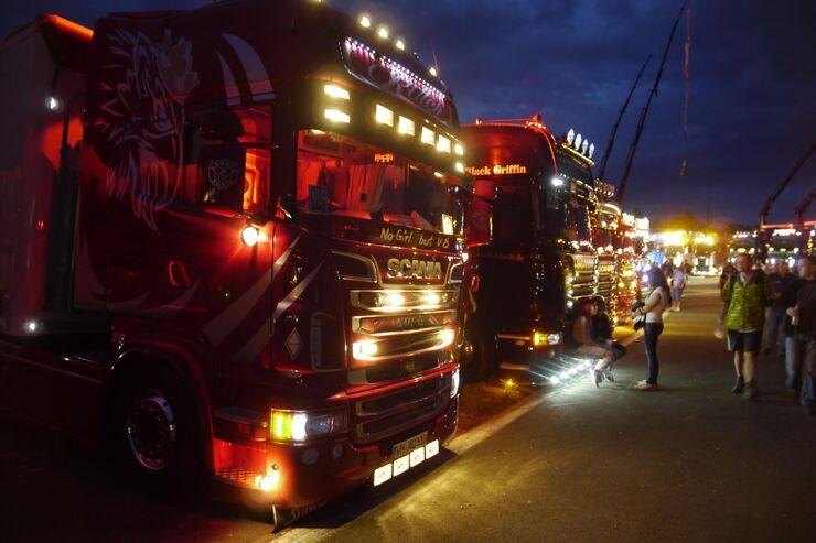 Truck Grand Prix 2015 - 2. Tag - Abendstimmung