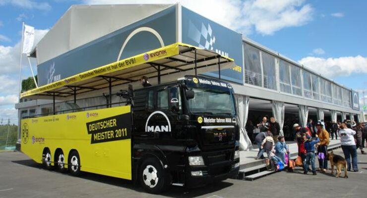 Truck-Grand-Prix, Truck Race, Lkw, BVB-Meistertruck, MAN