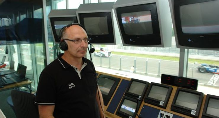 Truck-Grand-Prix, Truck Race, Lkw, Nürburgring, Sprecher, Sprecherkabine