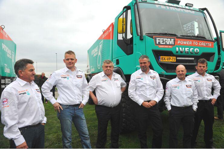 Truck Rallye, Dakar 2013, Team de Rooy, Iveco