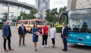 Übergabe Scania Linienbus