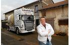 Unterwegs mit Wechselsilos, Scania, Krotten