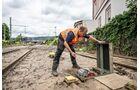 Unwetterschäden an der Bahninfrastruktur