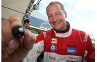 Uwe Nittel ist im Truck Race schon komplett angekommen und schnuppert auf dem Ring fleißig Podiumluft.