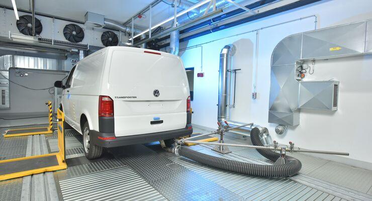 VW Abgasprüfzentrum