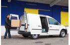VW Caddy 1.6 Bifuel, Laderaum