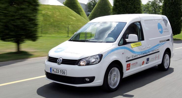 VW Caddy Maxi Blue-E-Motion