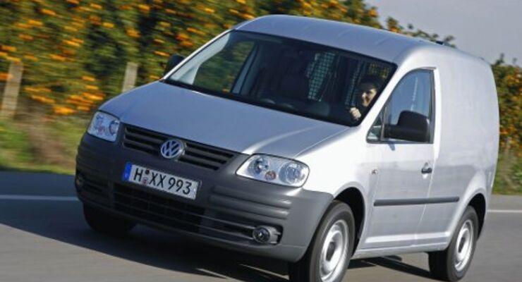 VW Caddy ist bester Lieferwagen