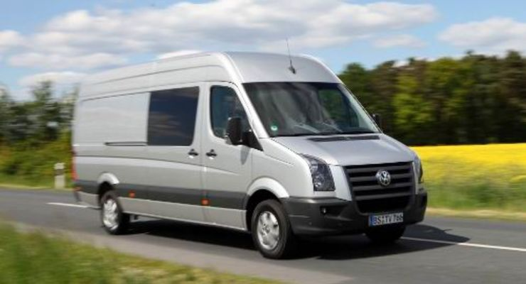 VW Crafter mit Start-Stopp-Automatik