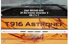Van Hool, T916 Astronef, Schriftzug