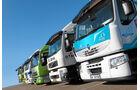 Vergleichstest Hybridlastwagen, Öko Lastwagen