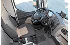 Vergleichstest Hybridlastwagen, Renault, Cockpit