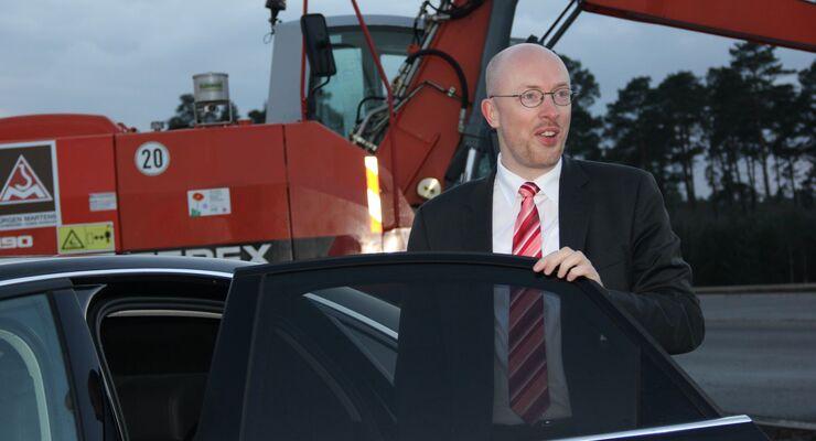 Verkehrsminister Mecklenburg-Vorpommern, Christian Pegel