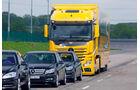 Verordnung zu Fahrerassistenzsystemen, Mercedes, Actros