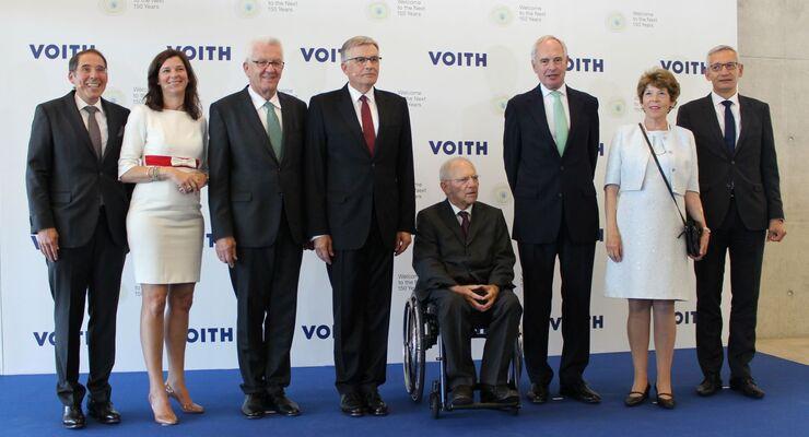 Voith, 150 Jahre Geburtstag