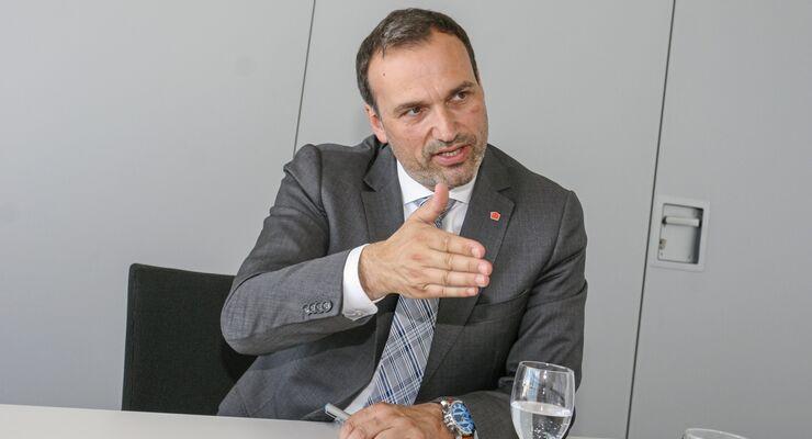 Volker Huber, Geschäftsführer UTA
