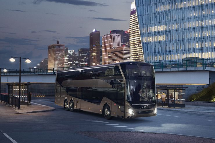 Volvo Buses 9700 DD Doppeldecker