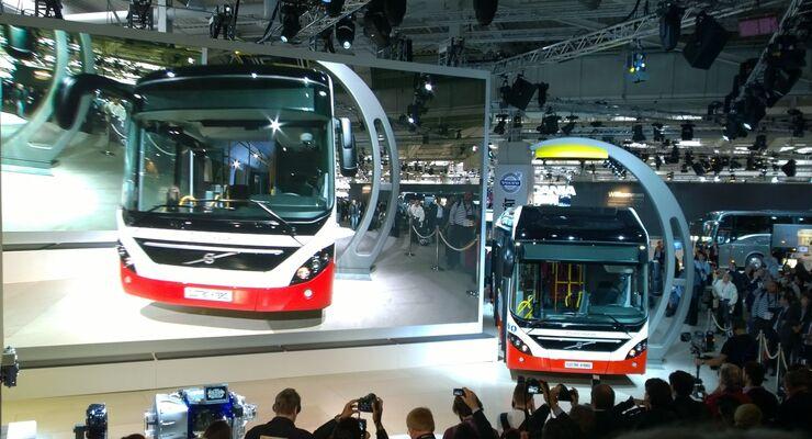 Volvo, Elektro-Hybrid-Bus 7900