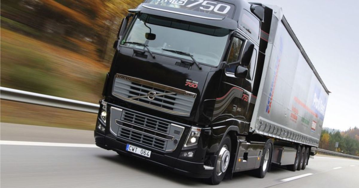 volvo fh 16 750 auf testfahrt eurotransport. Black Bedroom Furniture Sets. Home Design Ideas