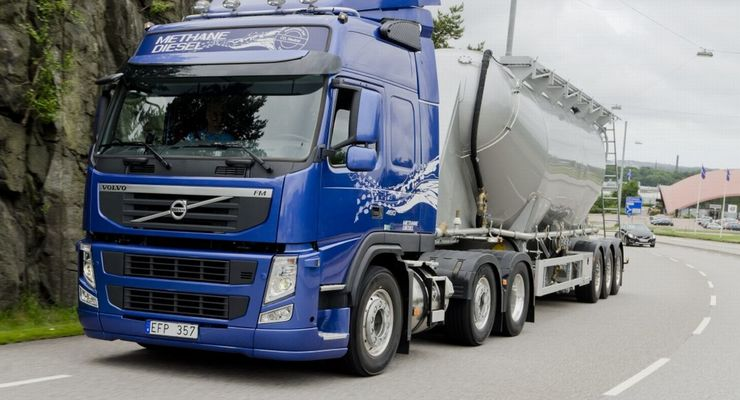 Volvo FM Methan-Diesel