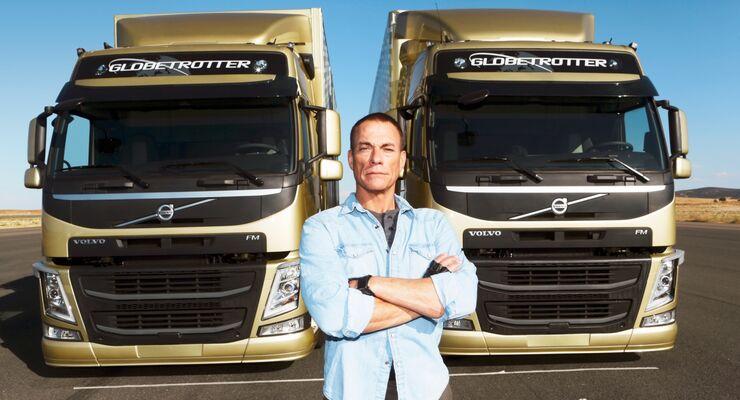 Volvo-Stunt mit Jean-Claude van Damme