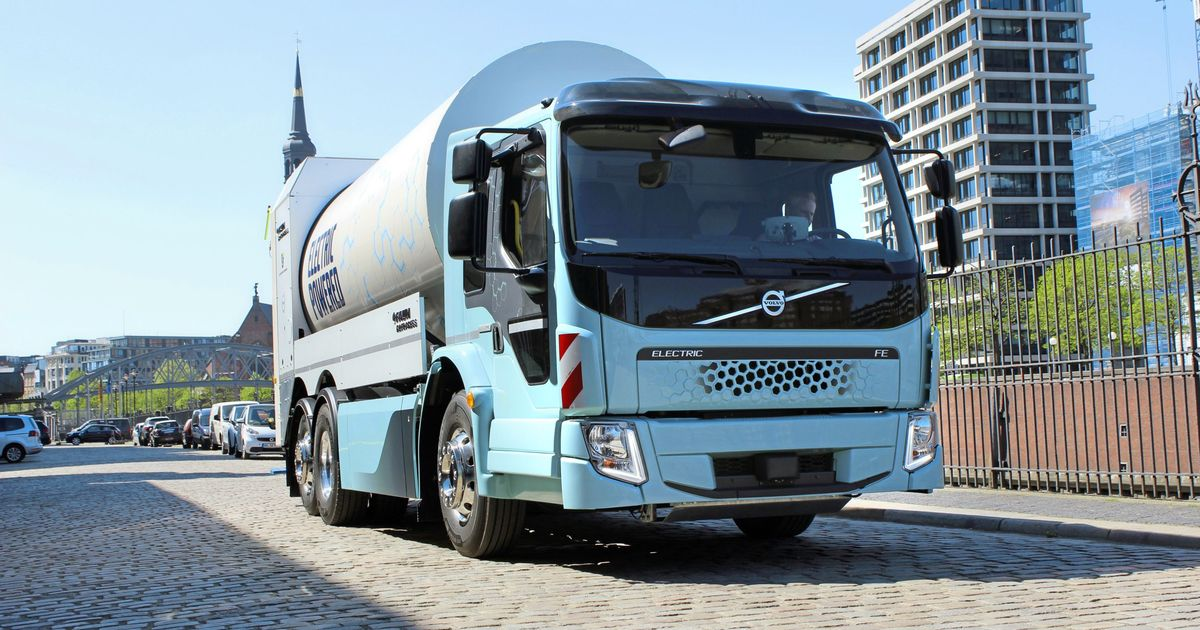 elektro lkw volvo pr sentiert batterieelektrische trucks. Black Bedroom Furniture Sets. Home Design Ideas
