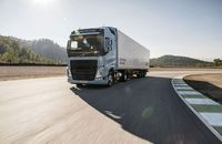 Volvo Trucks LNG FH und FM Euro 6