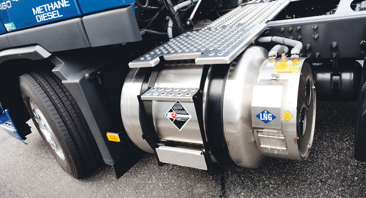 Vorstellung Volvo FM LNG