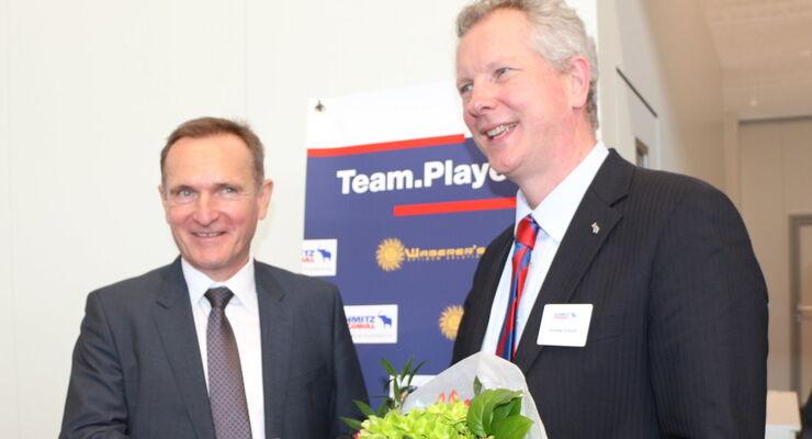 Waberer´s und Schmitz Cargobull festigen Partnerschaft.