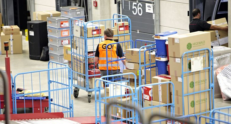 Warenumschlag bei Go Express & Logistics