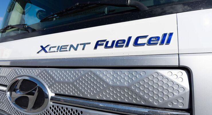 Wasserstoff-Lkw von Hyundai