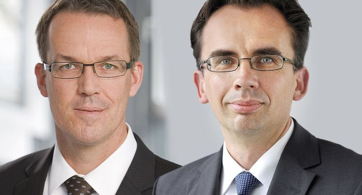 Webasto, Matthias Arleth, Jürgen Reimer (rechts)